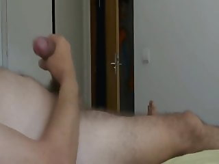 Normal Time - The cleaning girl spies me and masturbates me