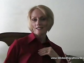 Pretty And Horny Amateur Grandmother