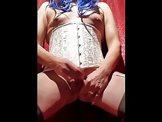 Mrs. Rhodes in doggie style get's a hard fuck and moan