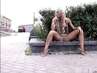 Naked and Barefoot Russian Whore Valeria