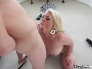 Naughty America - Joclyn Stone helps you Find Your Fantasy of hairy pussy